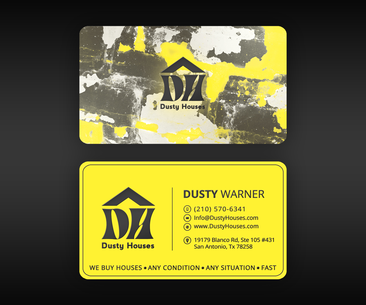 Playful, Personable, Business Business Card Design for Dusty Houses ...