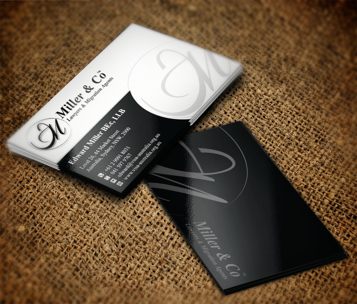 132 Bold Business Card Designs | It Company Business Card Design ...