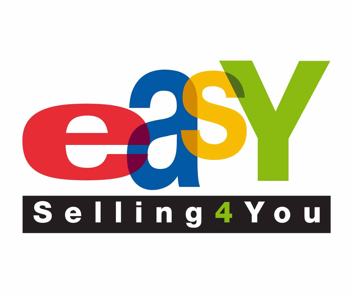 Ebay logo design for easy selling 4 you by king of the 4 selling design