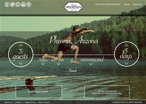 Web Design by Girl In Paris Design - Holiday Travel Site needs a Web Page (Design On...