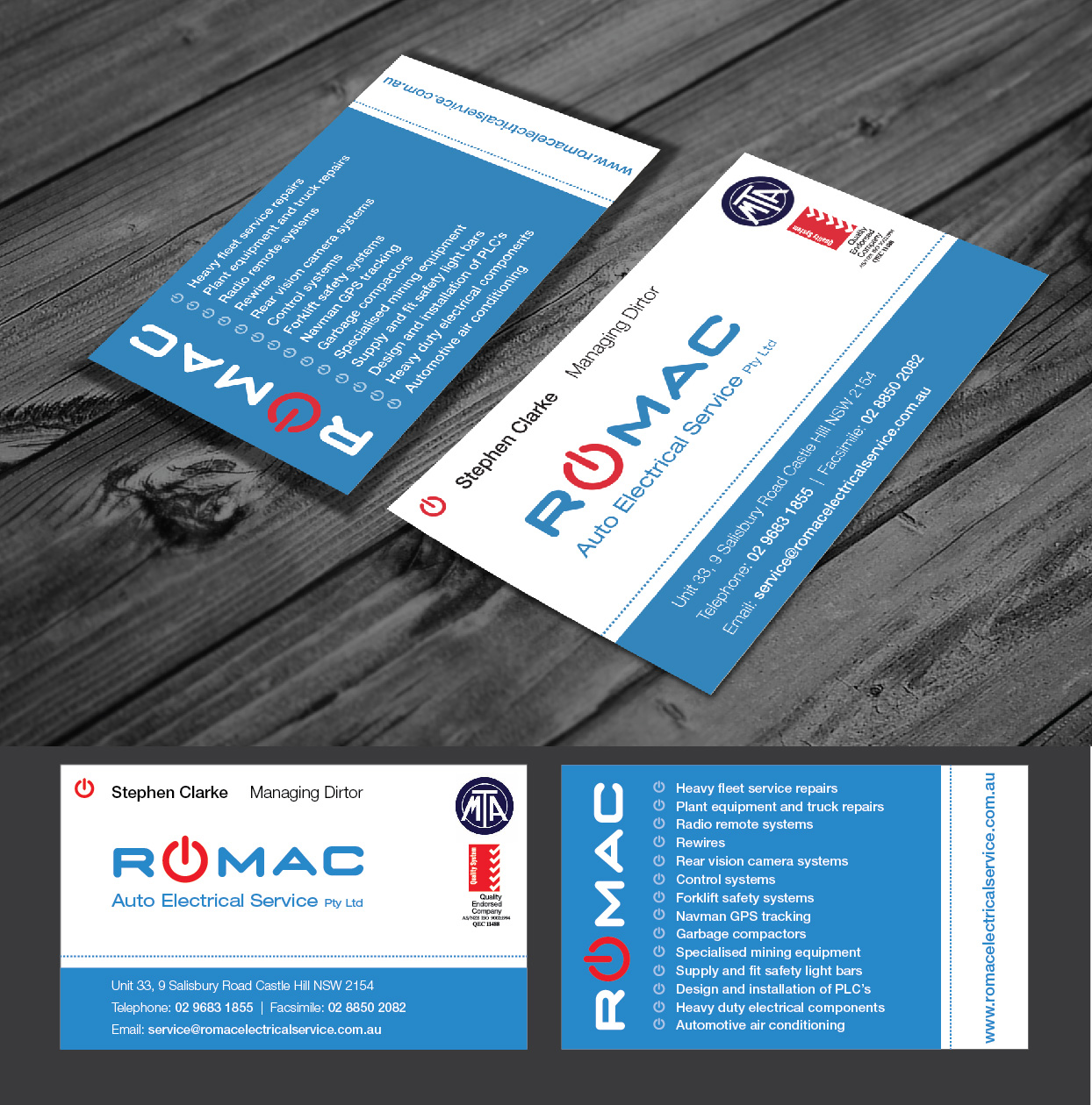 Business Business Card Design for printsales.com.au by G.Krastinkova ...