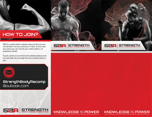 Brochure Design by TTS x DESIGN - strength and conditioning business needs a broc ...