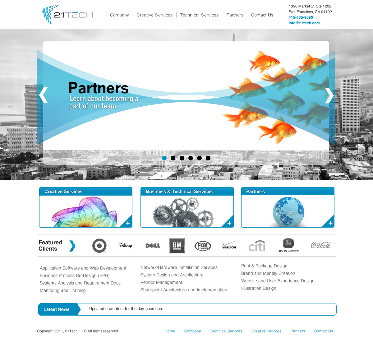 Professional, Bold, Business Web Design for a Company by Fielding ...