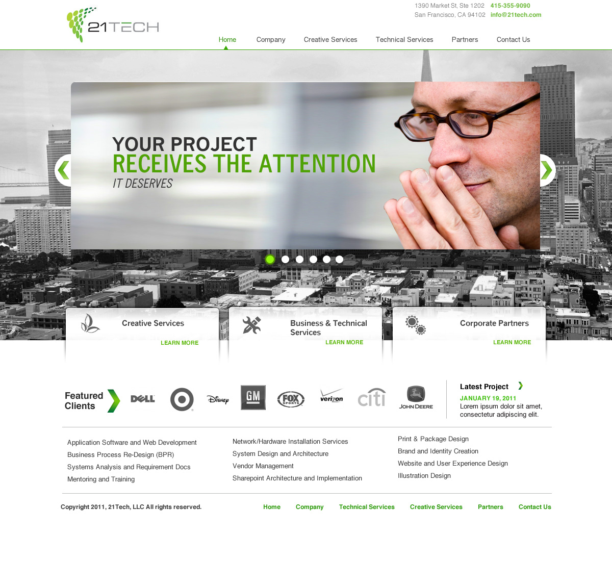 leading consulting firm 21tech web design project design 210770
