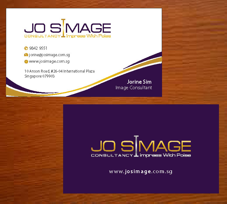 Business Card Design For A