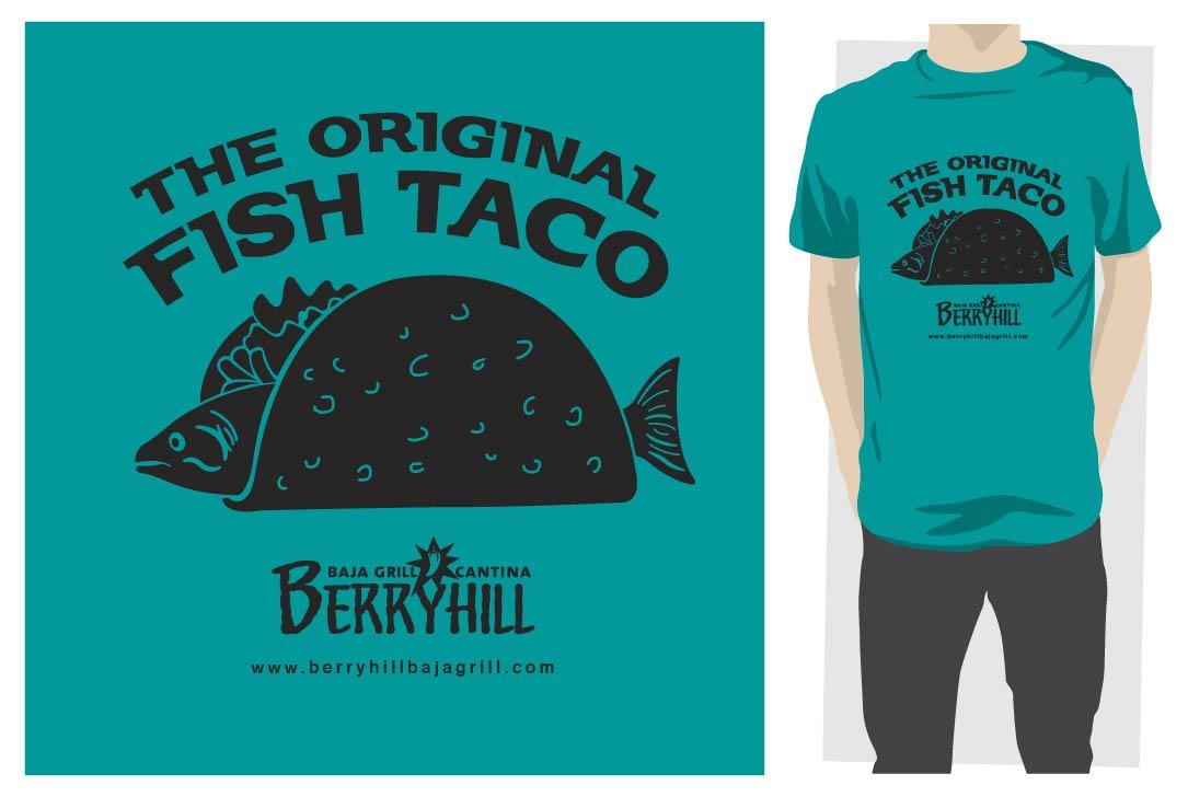 Famous restaurant logo with a mexican fish joy studio for Restaurant t shirt ideas