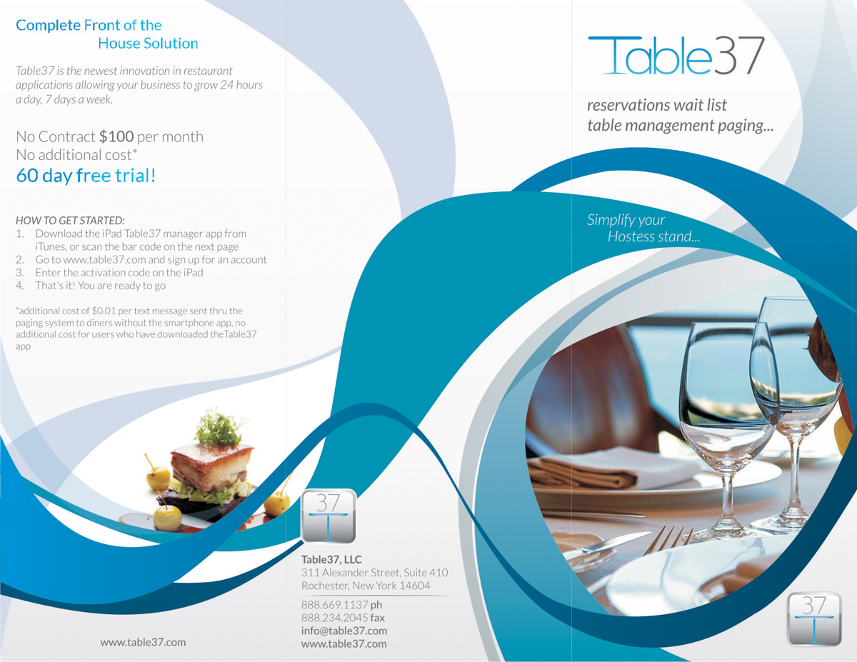 49 serious brochure designs restaurant brochure design project for