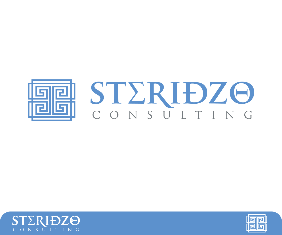 Management consulting logo design for steridzo consulting for Consulting logo design