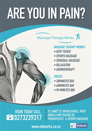 65 bold poster designs  massage poster design project for