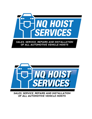 Logo Design by royalroosterdesign - NQ Hoist Services Logo Design (Automotive Indus...