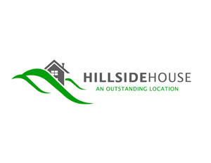 74 elegant modern logo designs for hillside house an for Modern house logo