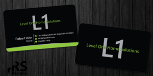 Bold Modern Business Card Designs For A Business In United - Home remodeling business cards