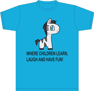 20 T-shirt Designs | Childcare T-shirt Design Project for a Business ...