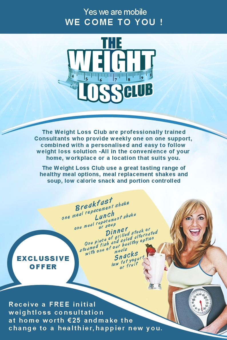 Weight Loss Flyer Closed