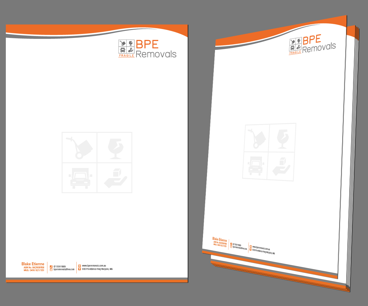 Australian Business Letterhead Template professional letterhead – Business Letterhead