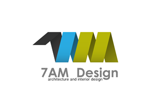logo designs for 7 am design optional architecture and interior