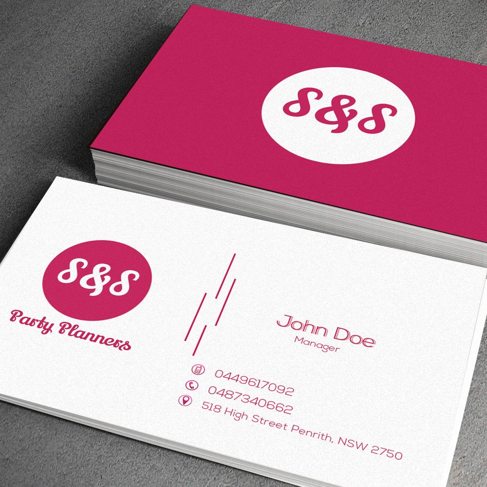 Business Card Design for susan hester by junaid ahmad | Design #4050642
