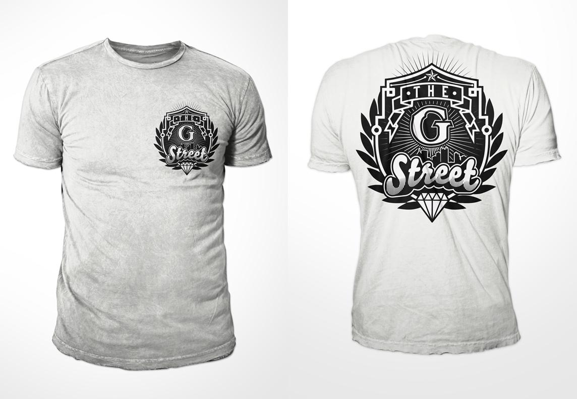 Shirt design ink - T Shirt Design By Kid Ink For The G Street Design 4040712
