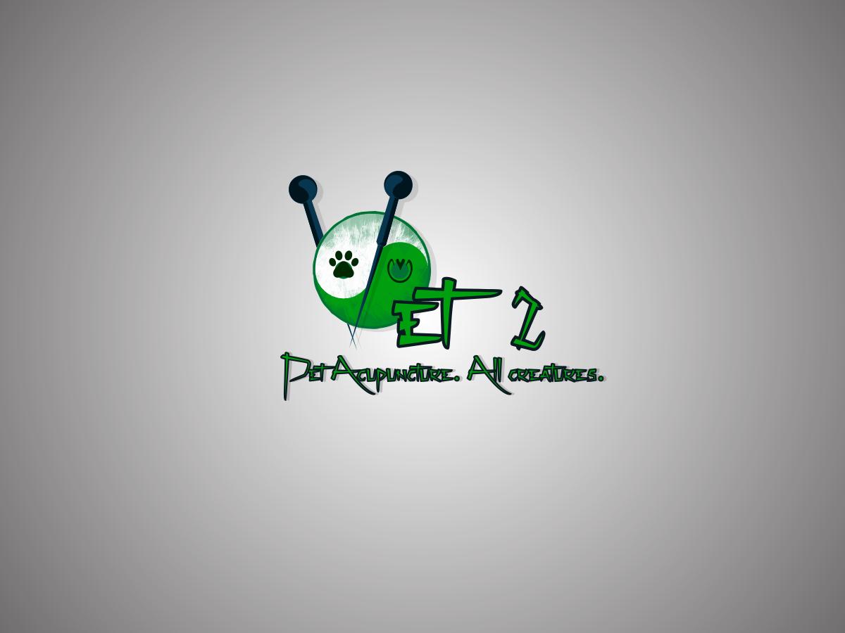 pet logo design for vet 2 pet acupuncture all creatures