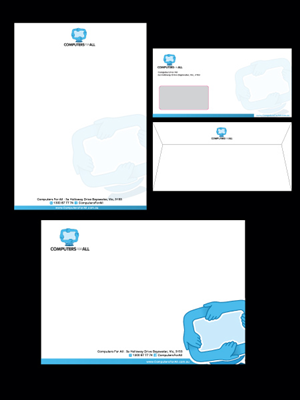 Stationery Design Contest Submission #146158