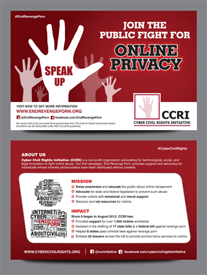 Postcard Design by rkailas - CCRI Summary Flyers