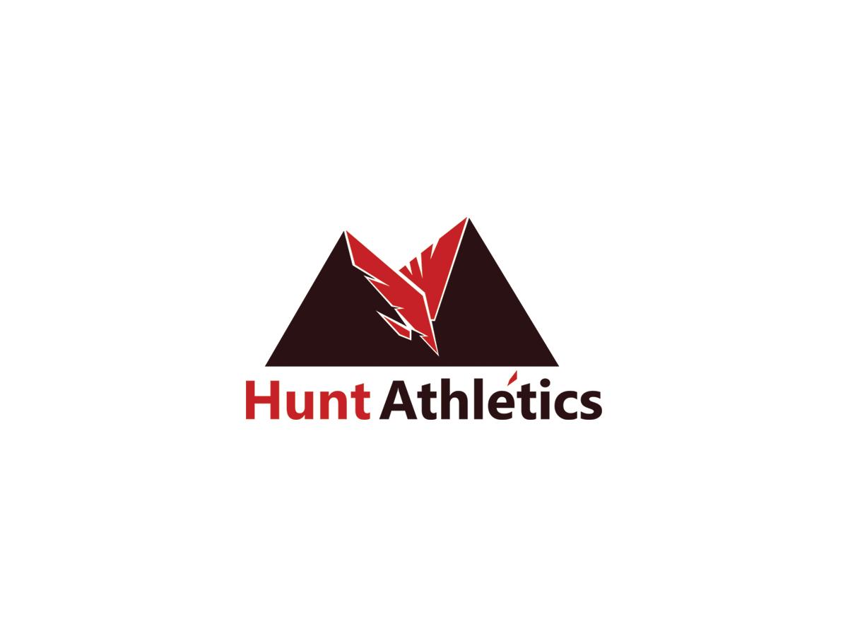 hunting logodesign f252r hunt athletics von jom design