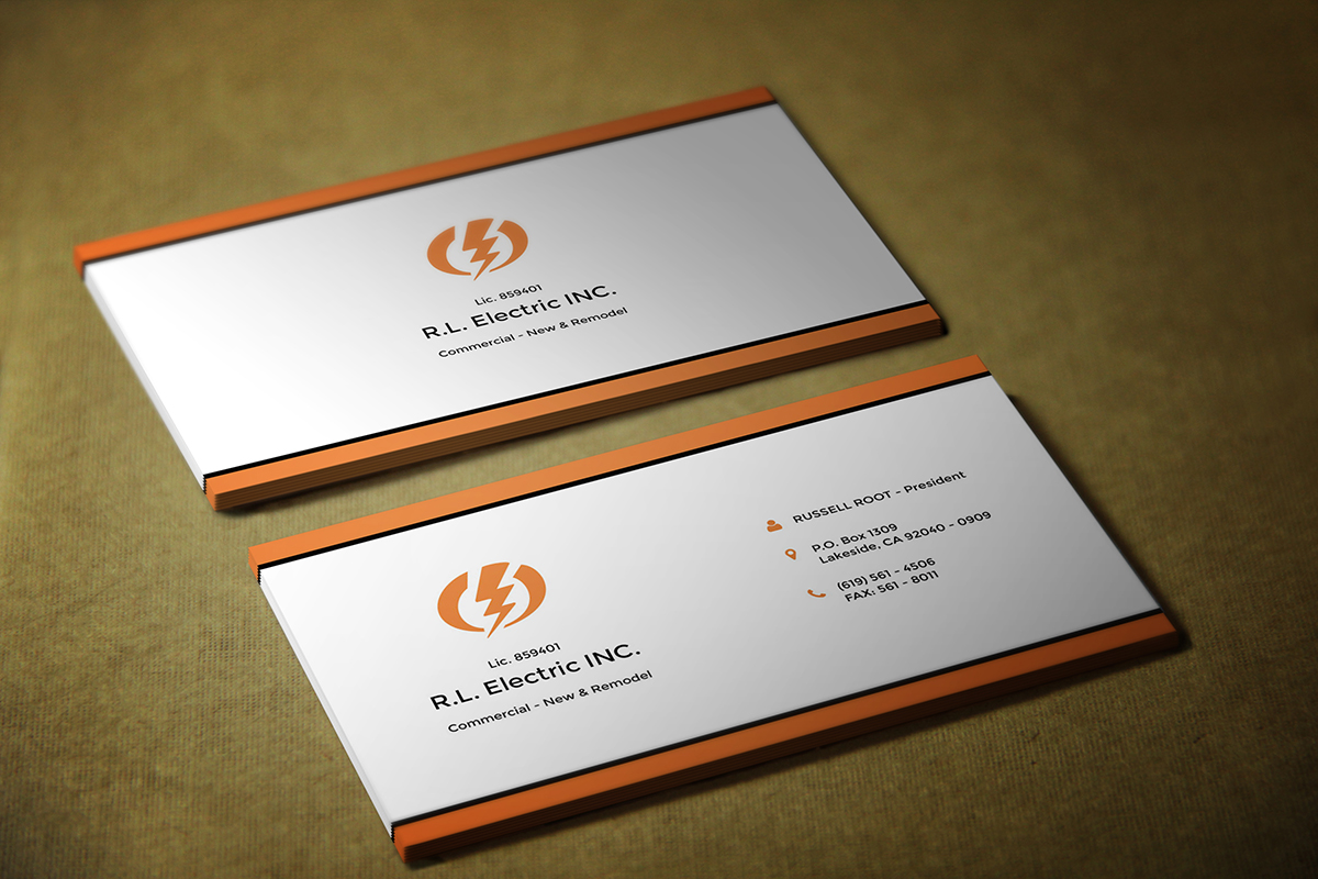 Contractor Business Card Design for a Company by Alex Andu | Design ...