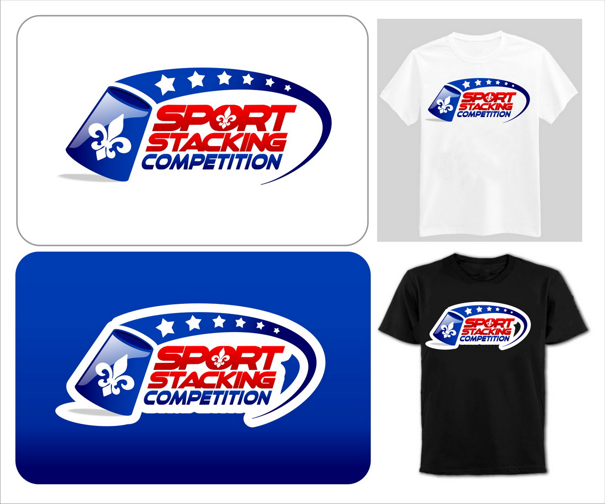 Shirt design canada - T Shirt Design By Hbum For Sport Stacking Canada Needs A Graphic Design For The