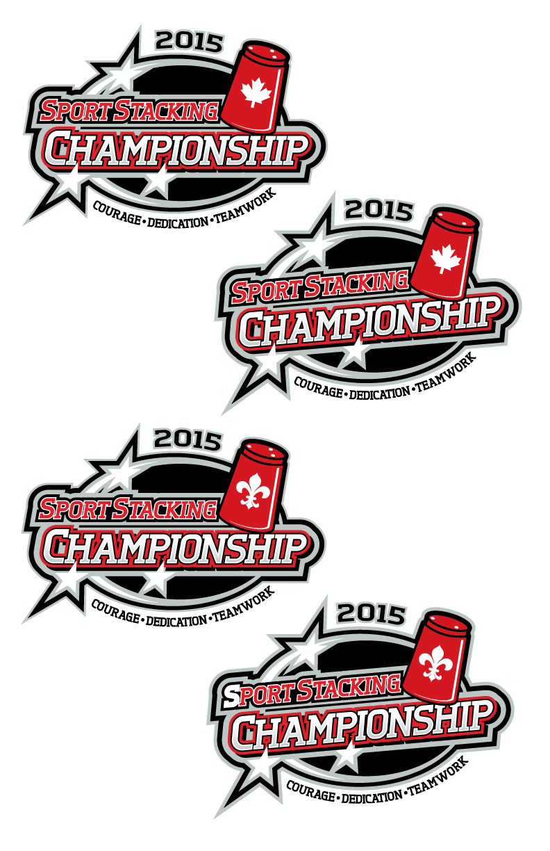 Shirt design canada - T Shirt Design By Royalroosterdesign For Sport Stacking Canada Needs A Graphic Design For The