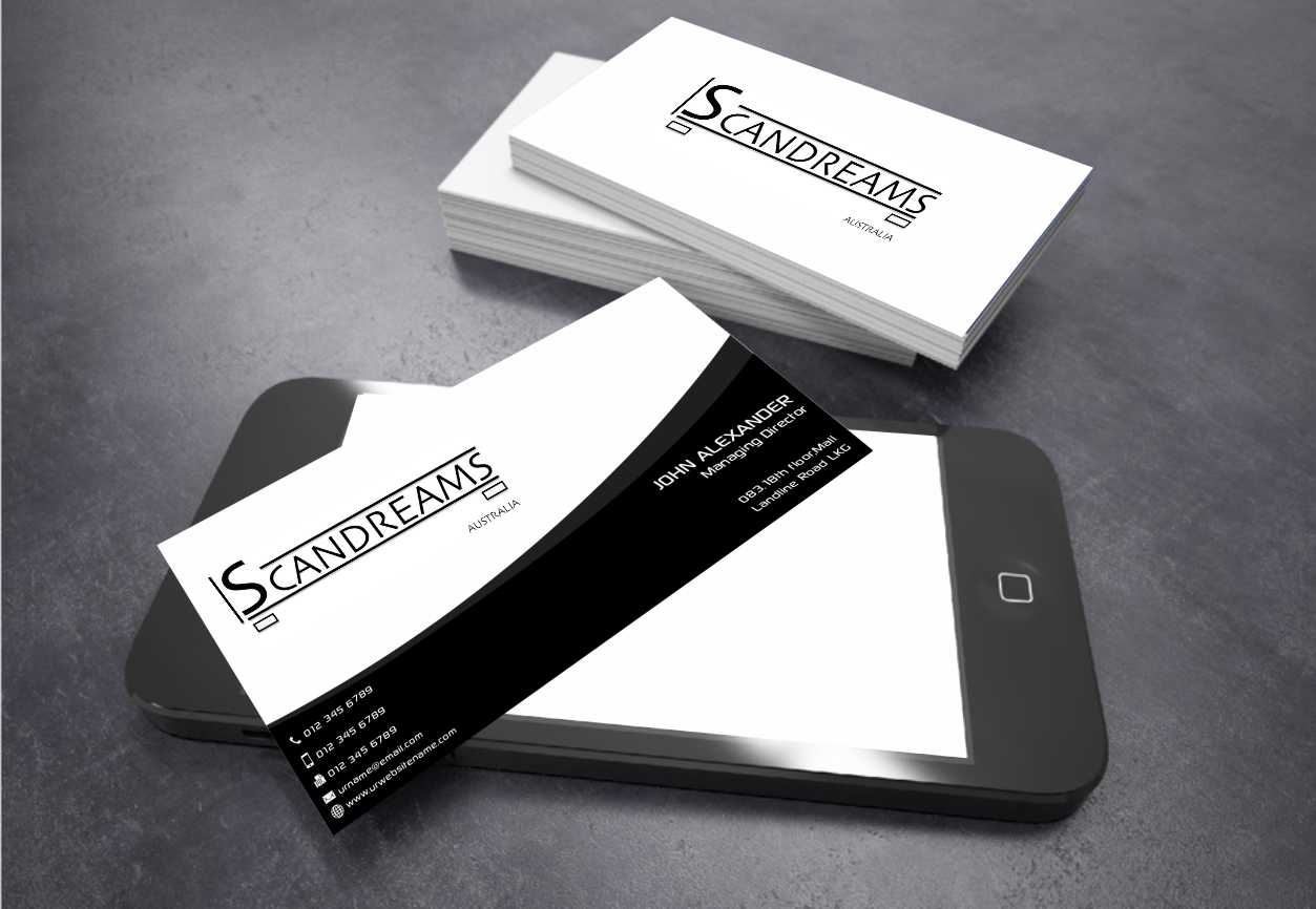 Serious, Modern Business Card Design for Anthony KARAZERIS by ...