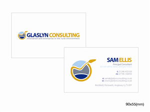 Free Management Consultant Business Card Design 151431