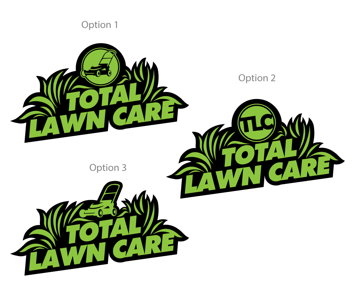 Lawn Service And Landscape: Professional, Masculine, Business Logo Design For Total