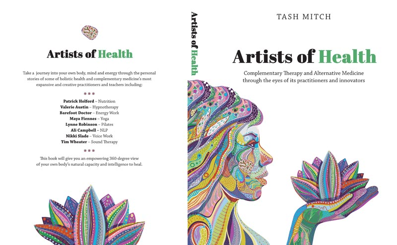 Health Book Cover Design ~ Elegant modern book cover design for tash mitch by foo