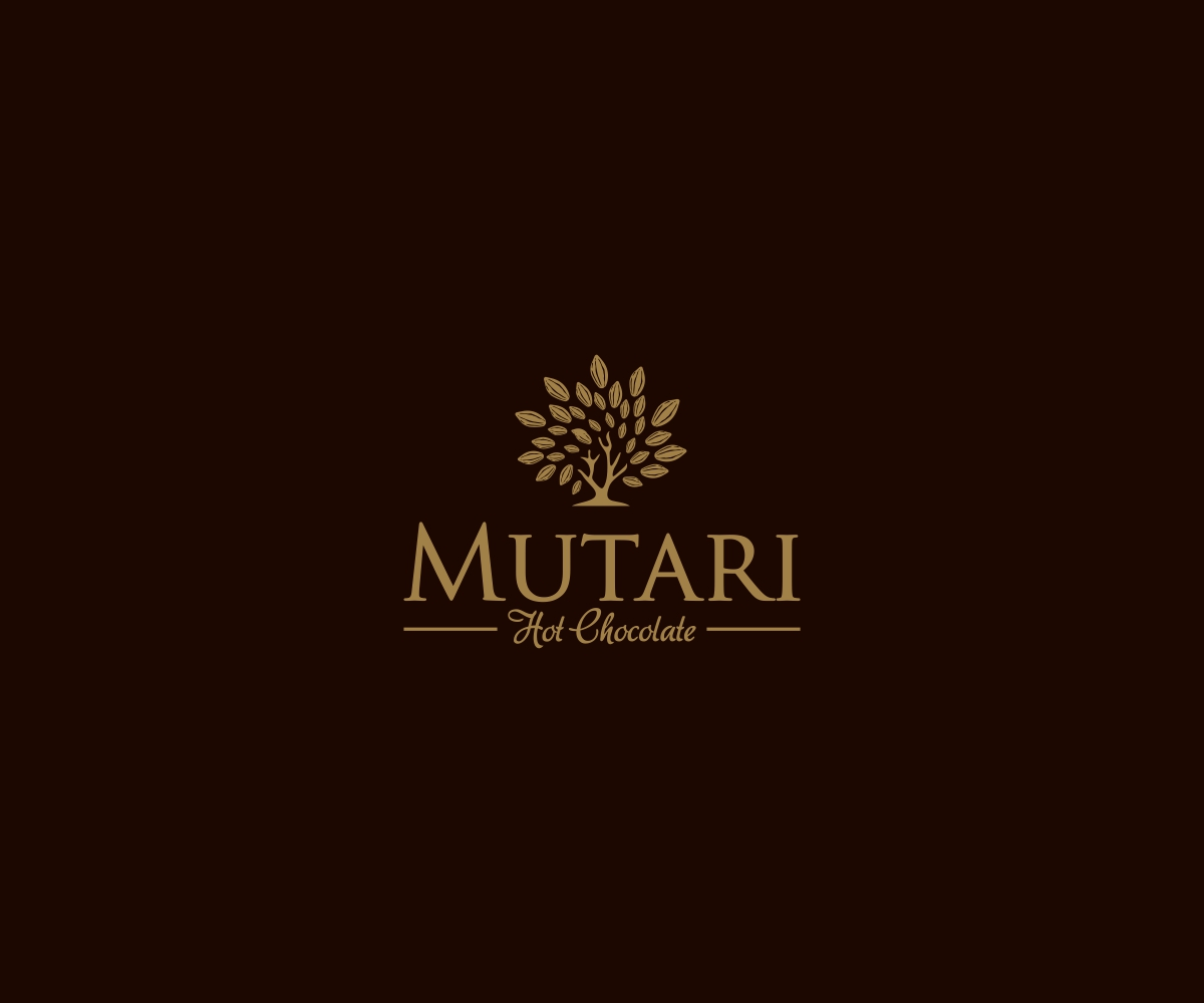 elegant ernst chocolate company logodesign for mutari