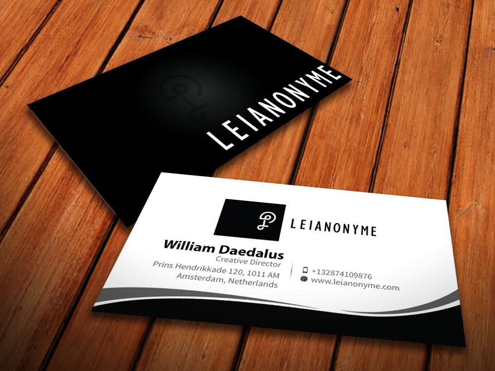 Serious conservative business business card design for a company business card design by mediaproductionart for this project design 4077706 reheart Images