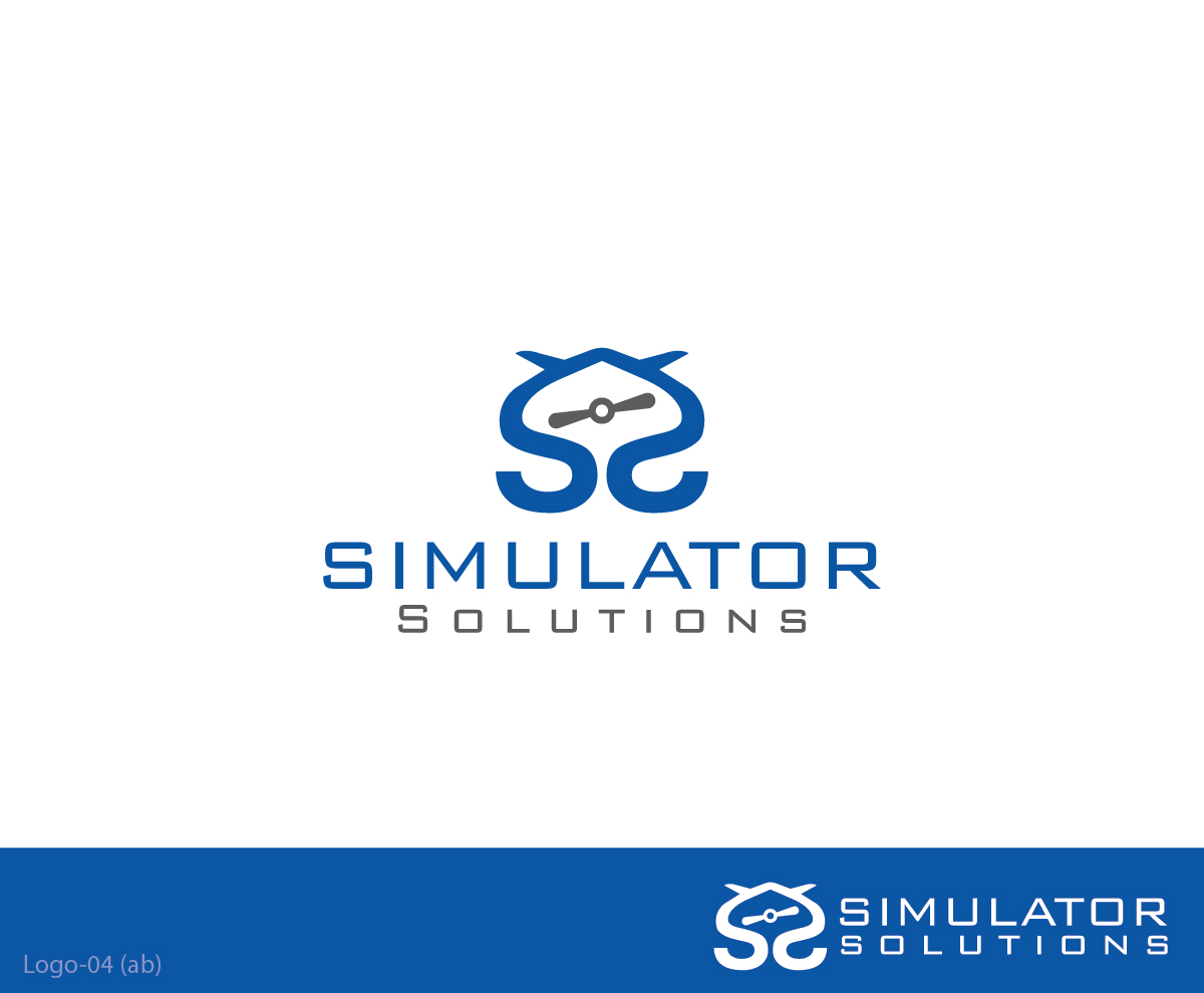 Professional serious software logo design for simulator for Logo drawing software