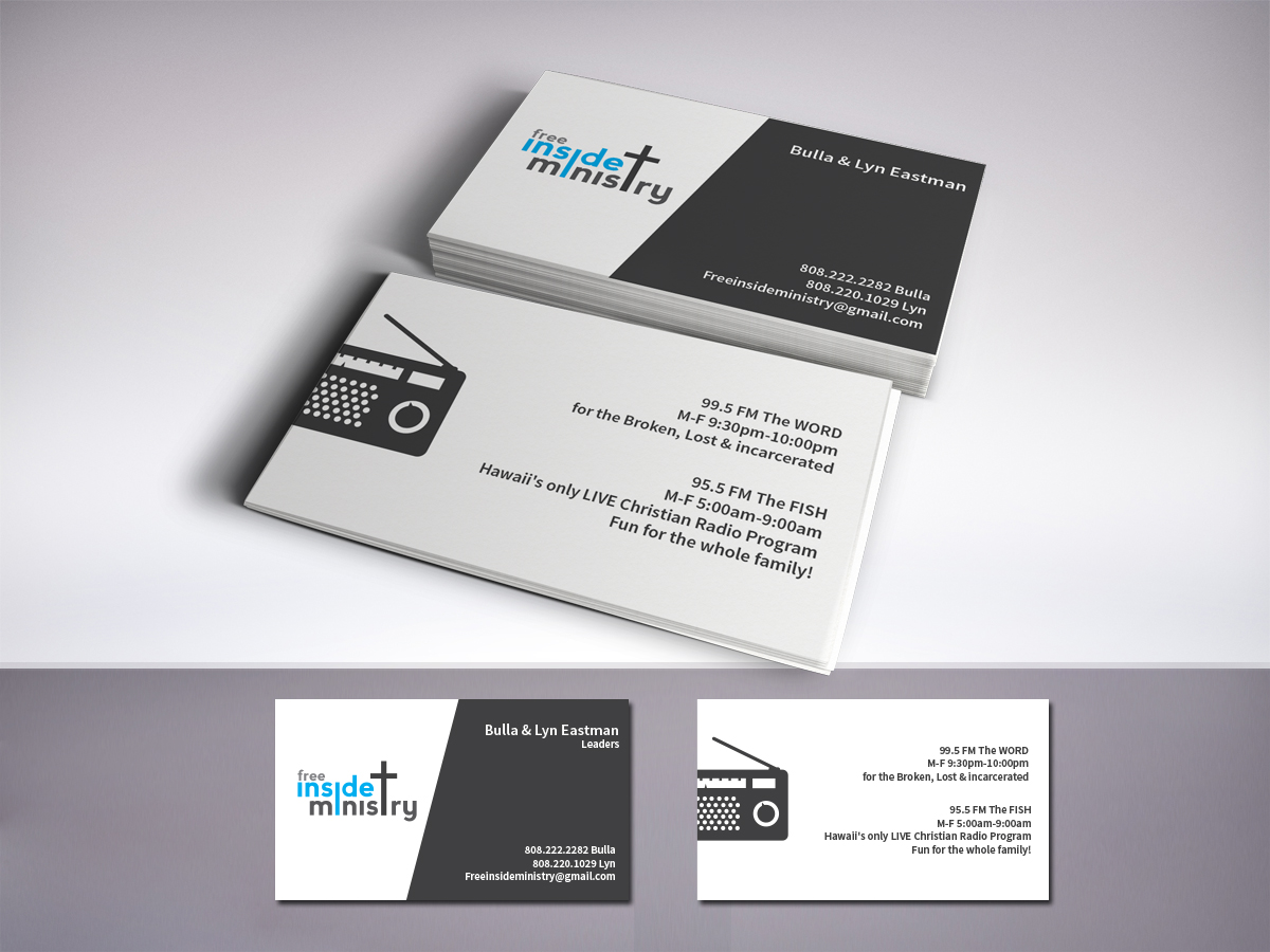 Radio Business Card Design For A Company By Lr Design Design 4132460