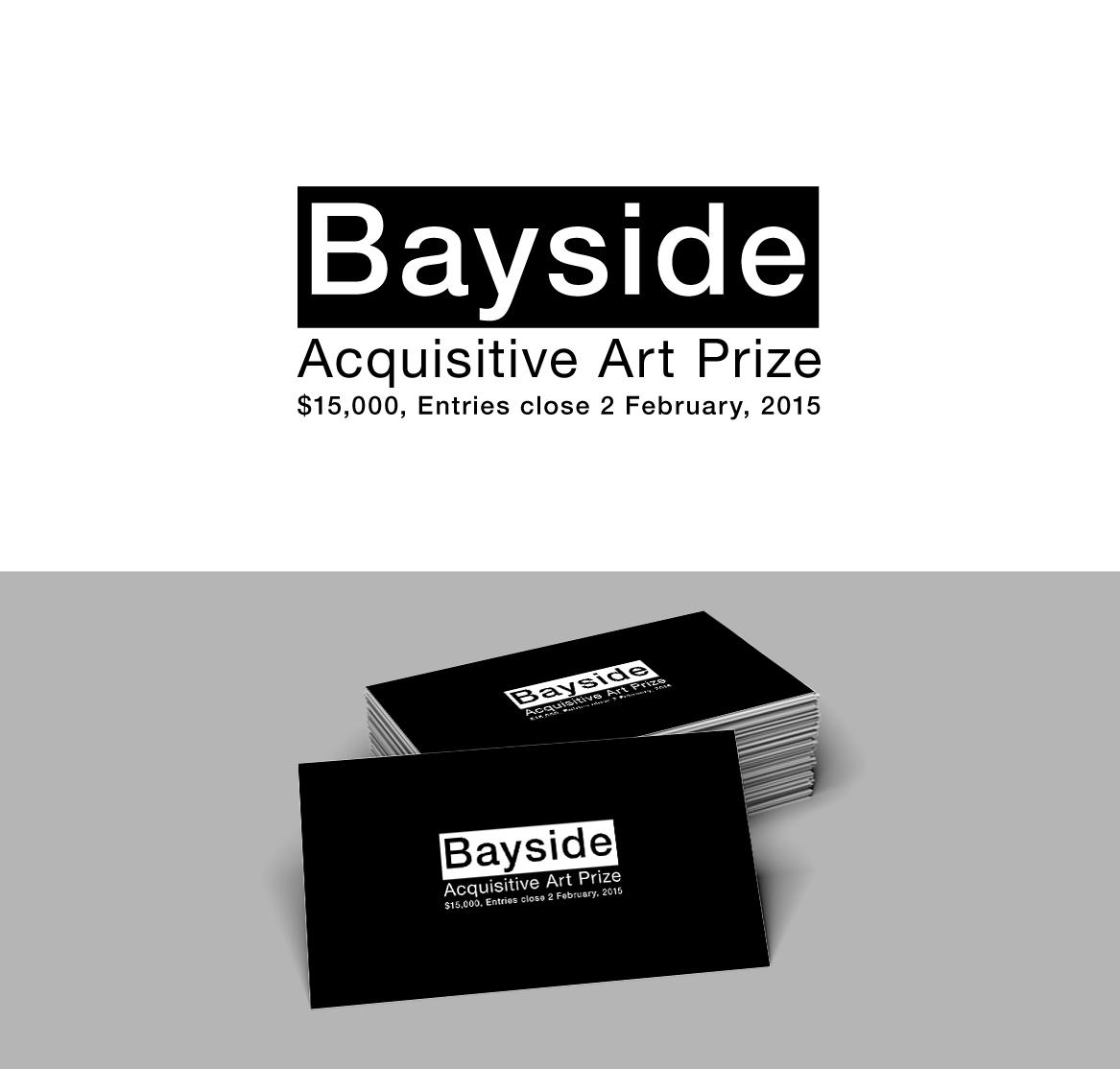 Work Logo Design for Bayside Acquisitive Art Prize, $15,000
