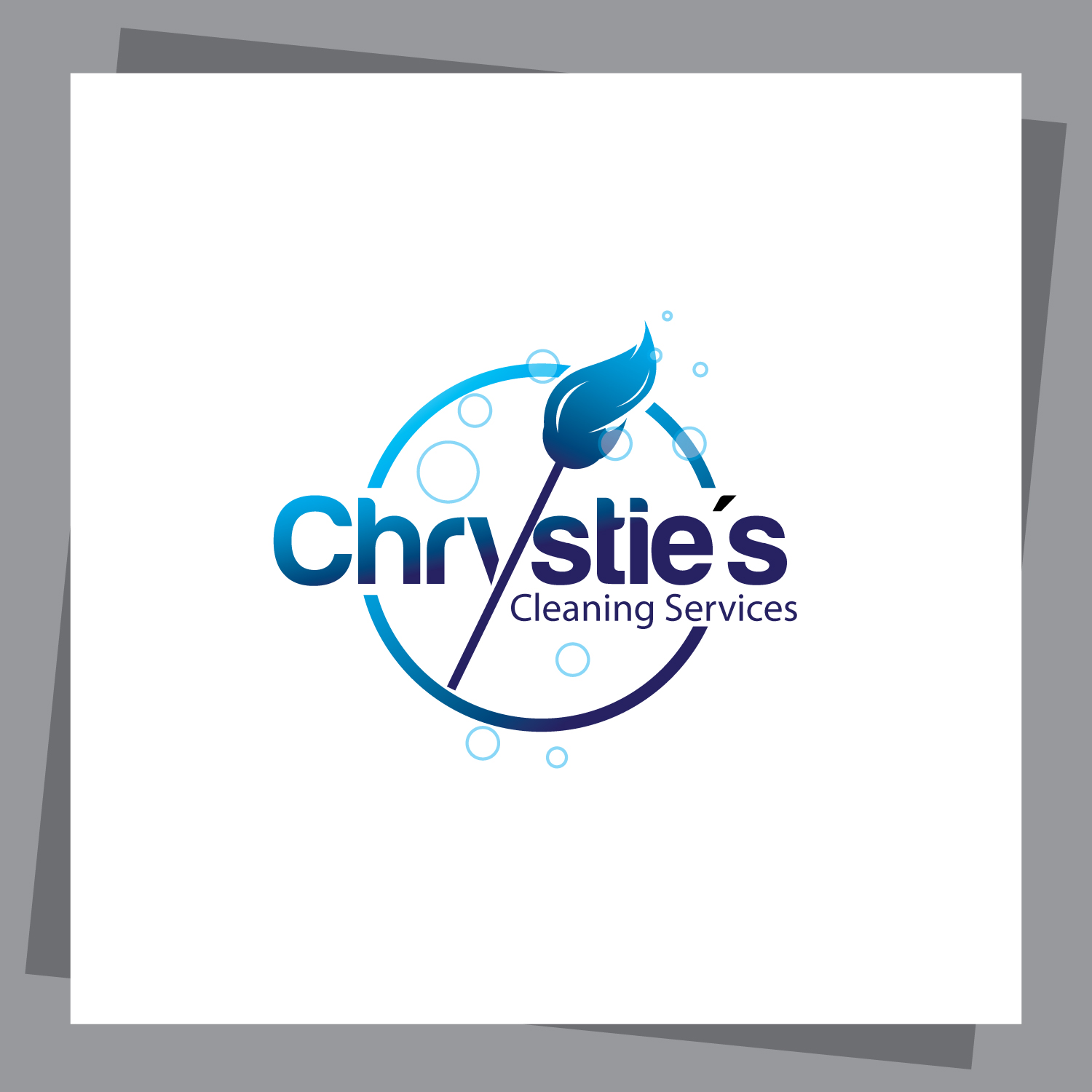Logo Design By Innereyevola For Chrystie S Cleaning Services 4100381