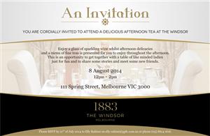 Invitation Design by Budzee