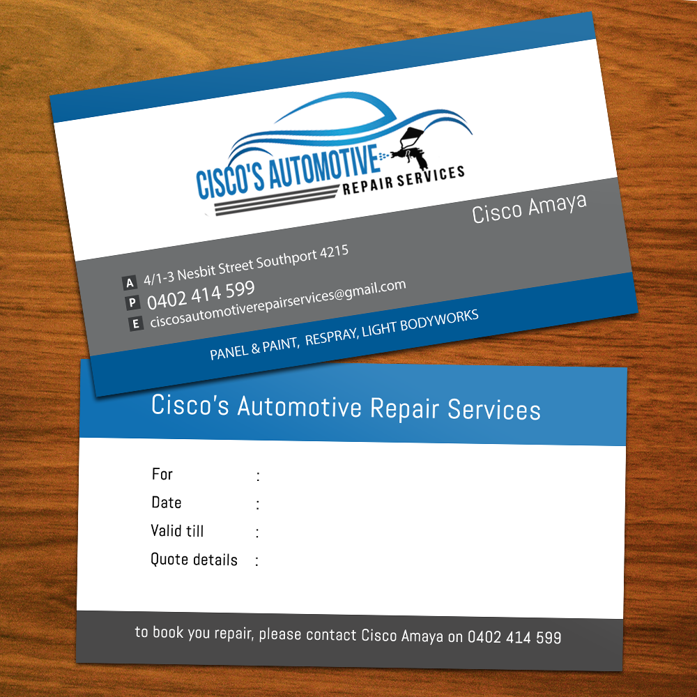 Modern professional automotive business card design for a company business card design by pawana designs for this project design 4076278 colourmoves Images