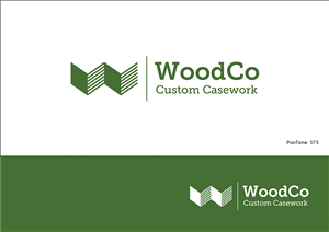 Logo Design by AV - Custom commercial cabinetry wood shop needs a l...