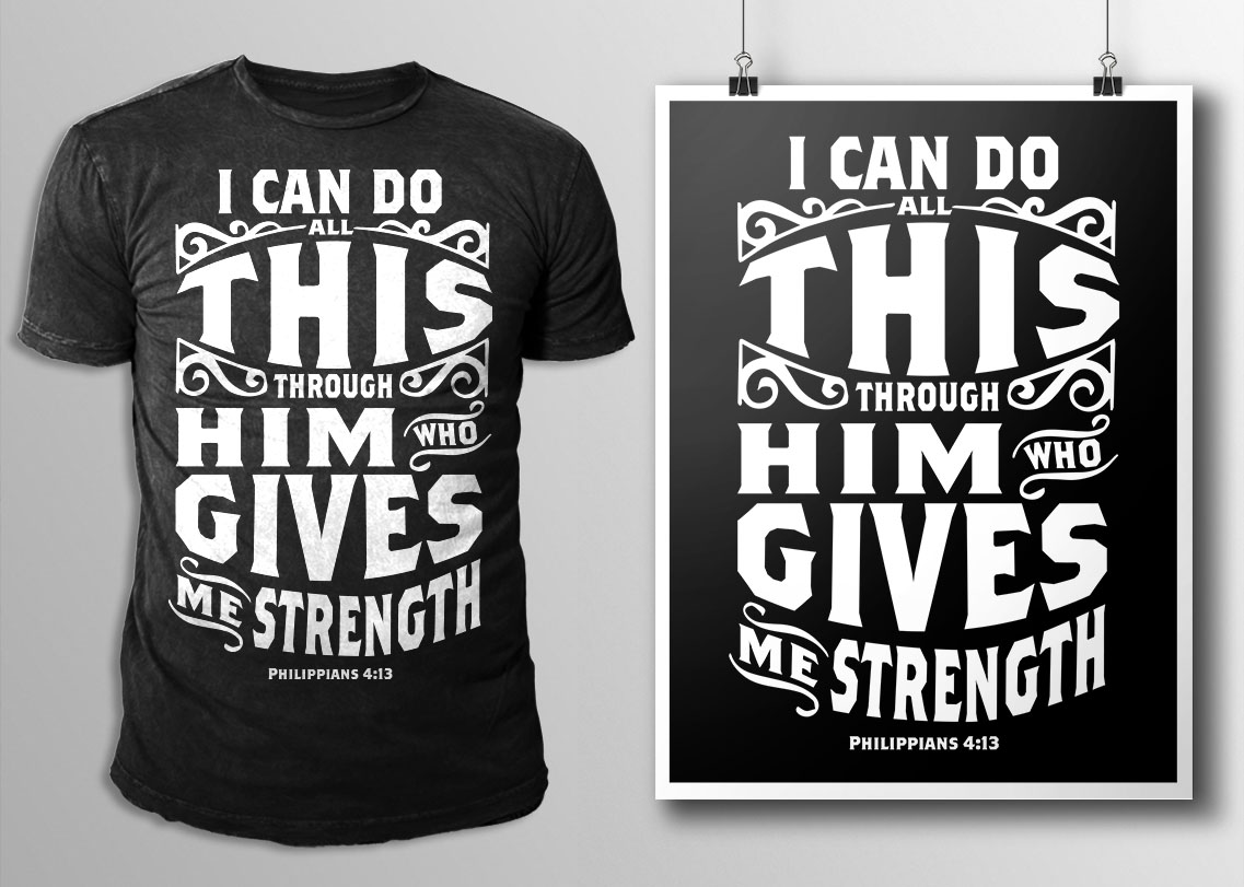 simple typography t shirt design contest brief 643109