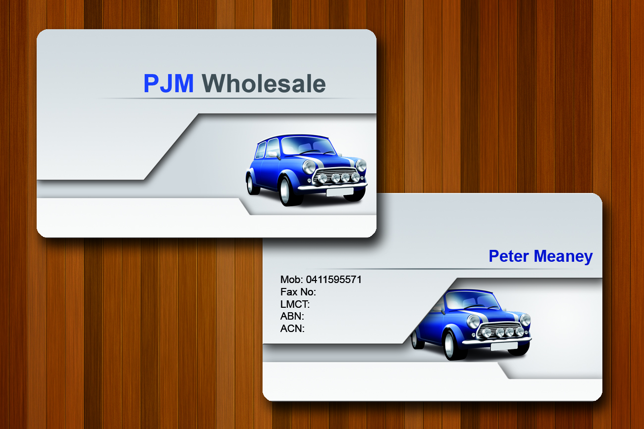 Bold, Modern, Retail Business Card Design for PJM Wholesale by ...