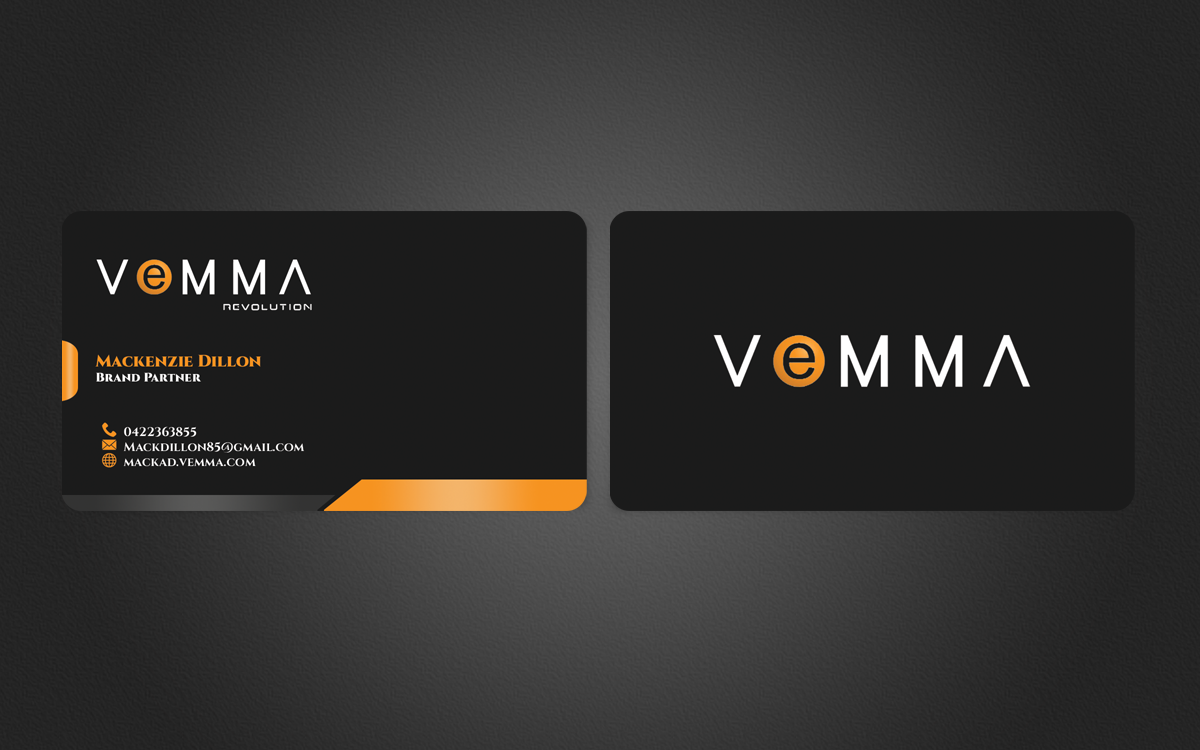 Business card design for mackenzie dillon by nuhanenterprise business card design by nuhanenterprise for vemma business card design 4126541 colourmoves Gallery
