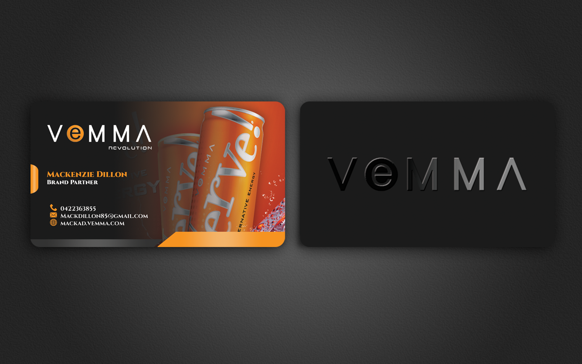 Business card design for mackenzie dillon by nuhanenterprise business card design by nuhanenterprise for vemma business card design 4127783 colourmoves Gallery