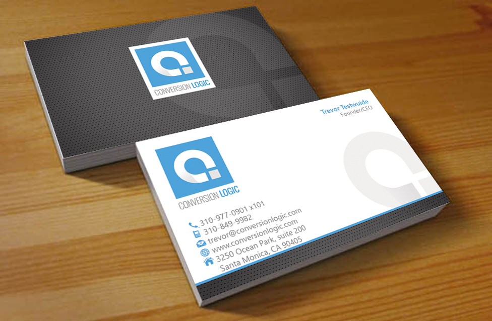 Marketing Business Card Design for a Company by Hardcore Design ...