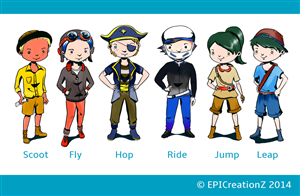 Character Design by EPICreationZ