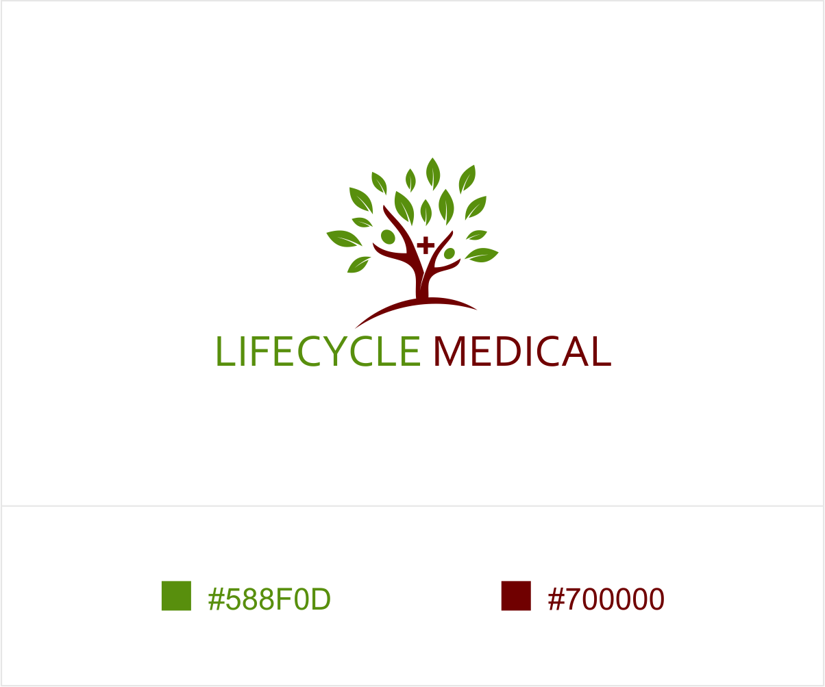 Medical logo design for lifecycle medical by ashu design for Medical design firms