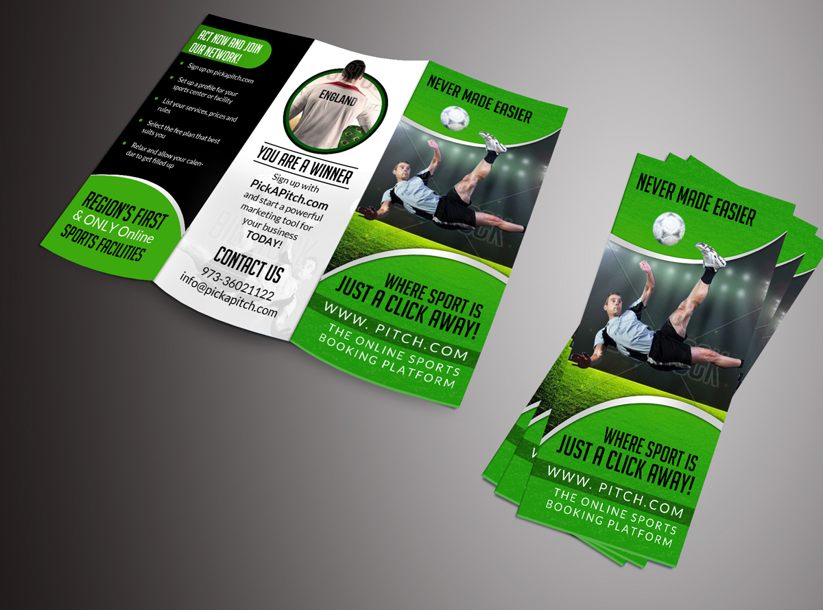 Brochure Design for PickaPitch by ESolz Technologies | Design #4246246